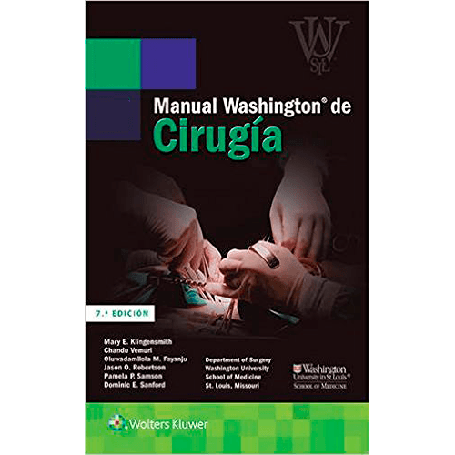 Manual Washington de Cirugía 7ª edición