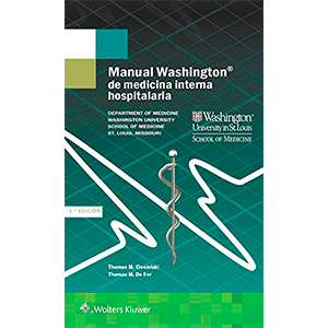 Manual Washington de medicina interna hospitalaria 3ª edición